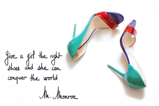 A Piece of Glam: Give a girl the right shoes and she can conquer the world...  ©apieceofglam.com