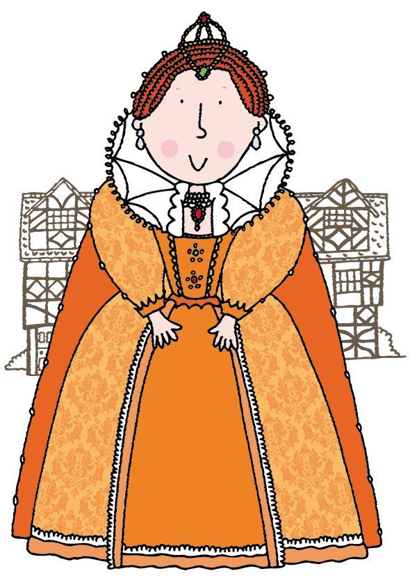 Queen Elizabeth 1 Illustration