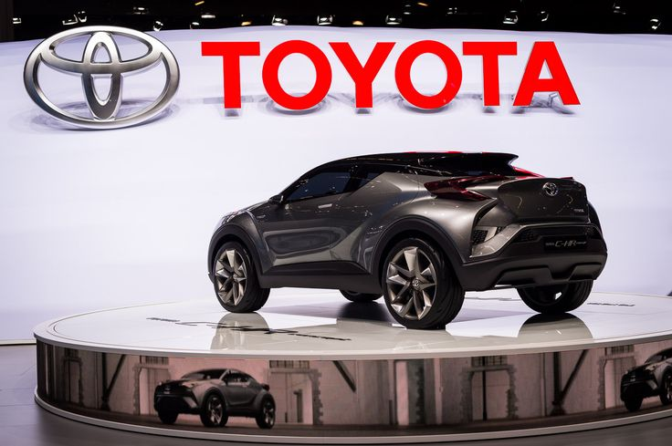 Updated Toyota C-HR Concept unveiled at Frankfurt Motor Show ahead of new production car debut in 2016: http://blog.toyota.co.uk/toyota-c-hr-concept-frankfurt. #ToyotaCHR #Concept #Design #Future #IAA2015