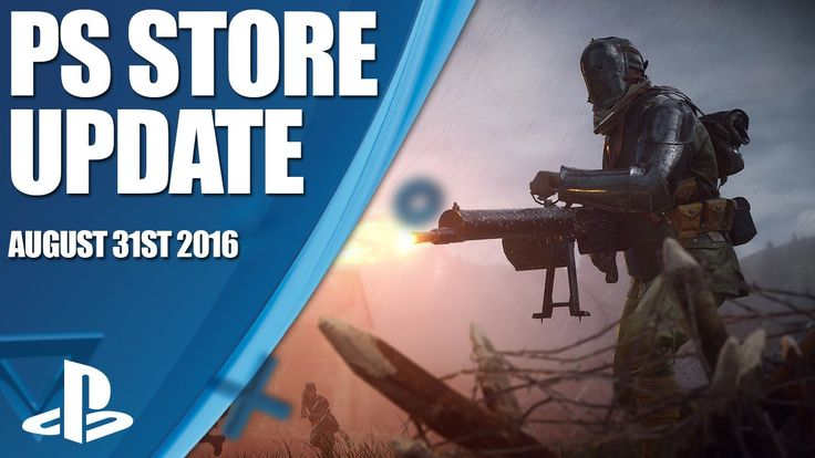 PlayStation Store Highlights - 31st August 2016