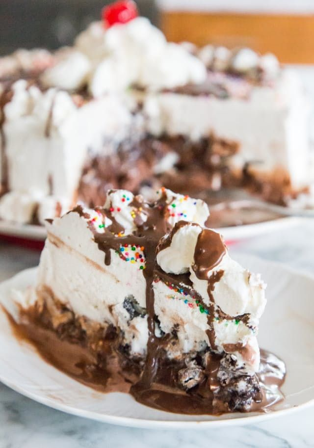 Carvel Turtle Ice Cream Cake