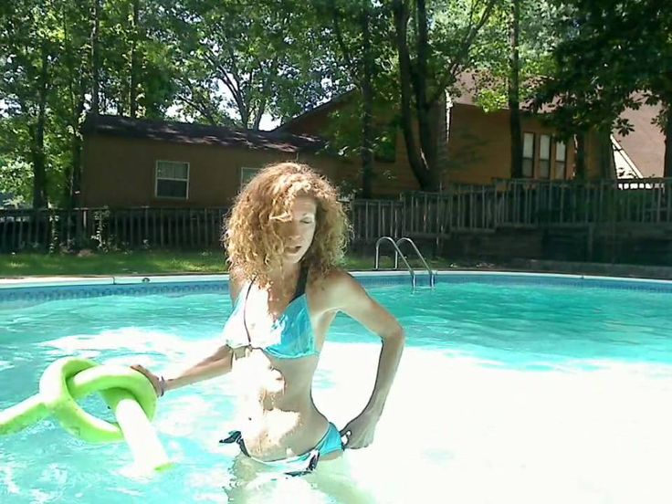 Pool Workout With Pretzel Noodle Health Water Aerobics
