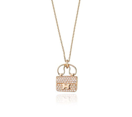 80 best hermes images on pinterest diamond pendant fashion hermes pendant in rose gold set with 65 diamonds 029 ct adjustable from 15 aloadofball Gallery