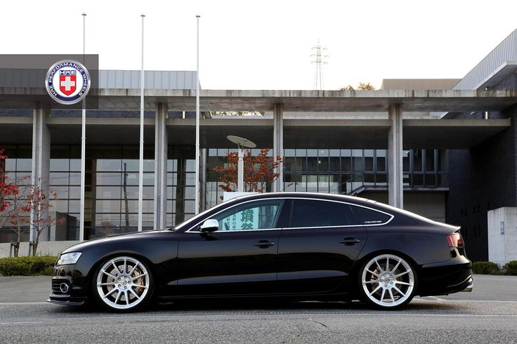 Audi A5 Sportback on HRE P43SC (20x9/10.5) in Brushed Clear