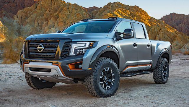 Salão de Detroit (EUA), a Nissan apresenta a picape-conceito Titan XD Warrior Concept