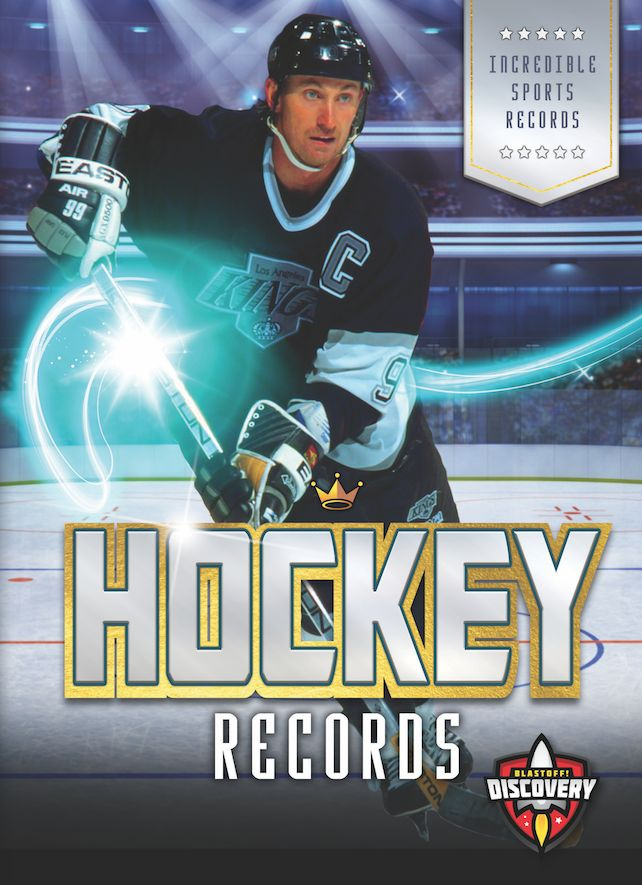 Wayne Gretzky's skills on the ice are known by hockey fans all around the world. The NHL player scored 894 goals during his career! While Gretzky may be the most famous hockey player, many others have claimed records in this fast-paced sport. This thrilling book features incredible hockey records that are sure to impress and inspire fans of the sport!