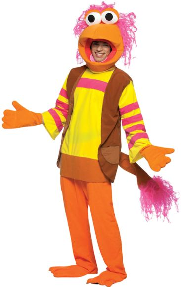 Fraggle rock red fancy dress
