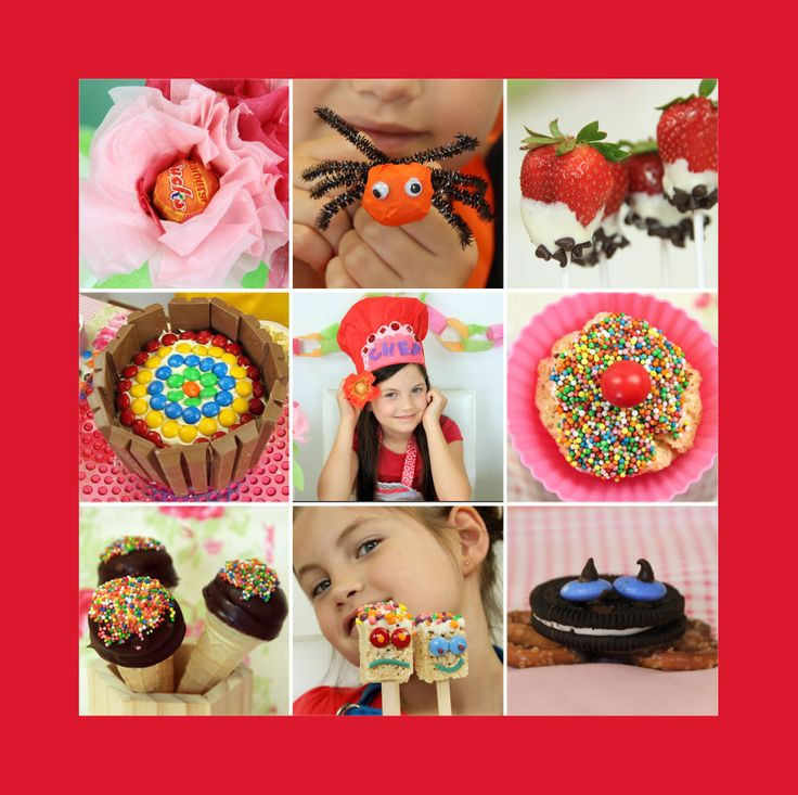 Fun kids baking ideas