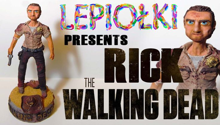Rick The Walking Dead, Rick Grimes, Rick The Walking Dead, polymer clay, z modeliny, tutorial, Tips and techniques, lekcja, kawaii, handmade, with clay, lepiołki, charms, fimo, , polymer clay ideas,   rekodzielo, step by step ,clay lessons, Make it together!,zrób to sam,  pâte polymère, pâte fimo, one of a kind,clay dolls, ポリマークレイ, 手作り,free tutorials, realistic, Rick The Walking Dead figures, sculpting,