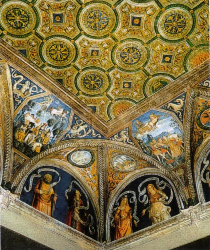 Pinturicchio - Vaticano, Appartamento Borgia. Sala delle Sibille