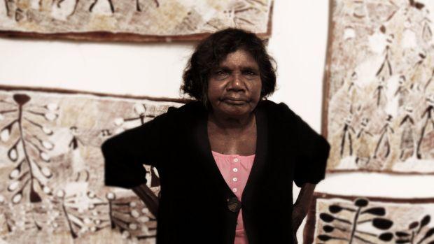 Yolgnu artist Nyapanyapa Yunupingu won the Wandjuk Marika 3D Memorial prize in…