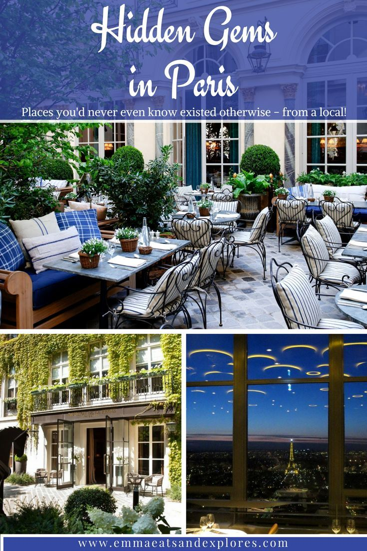 A Guide to the Hidden Gems in Paris