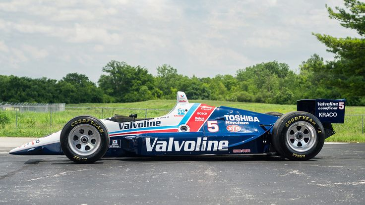 1990 Lola T90/00 Valvoline Indy Car - 2 - Print Image - Al Unser Jr. won the 1990 CART PPG Indy Car World Series Championship in this car - sold for 82k