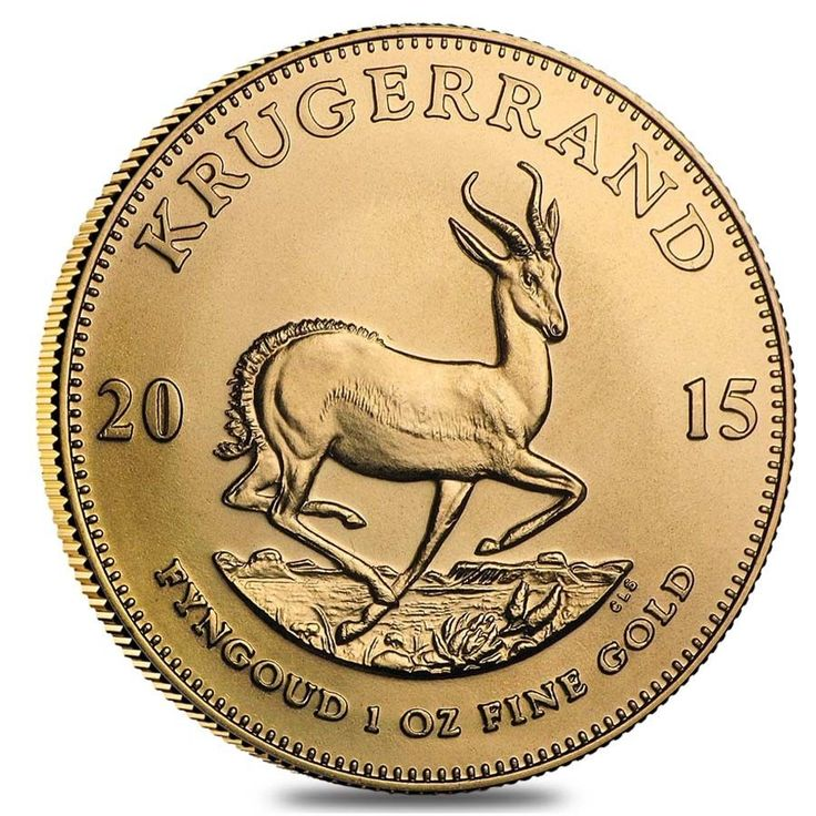 2015 South Africa 1 oz Gold Krugerrand BU - $1,445.19 -