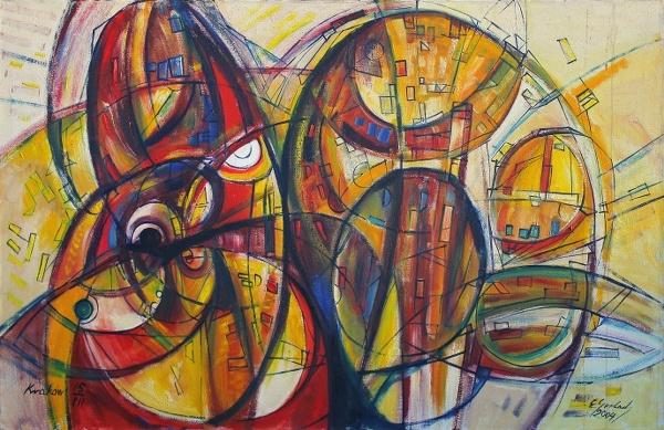 Galeria CENTRUM – NCK Kraków – Eugeniusz Gerlach – wystawa malarstwa | Gerlach Eugeniusz Blog