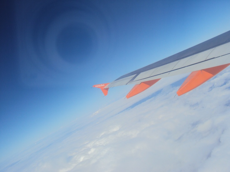 With #easyjet to #Geneve