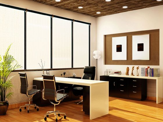 13 best office interior designs altitude design india for Office cabin interior