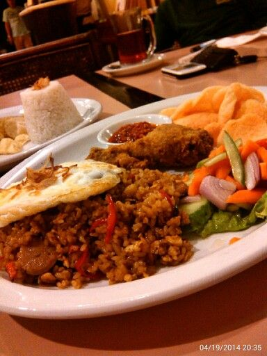 Nasi Goreng… #GaremGarem #GoodFood #Bandung #Indonesia