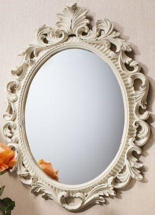 Gallery Direct Napoli Mirror - Cream 4pk