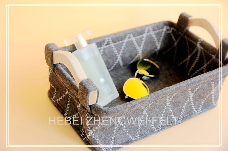 $4 to $7 Nice Felt Storage Box with Good Polyester Material, Making Your Life More Lovely!