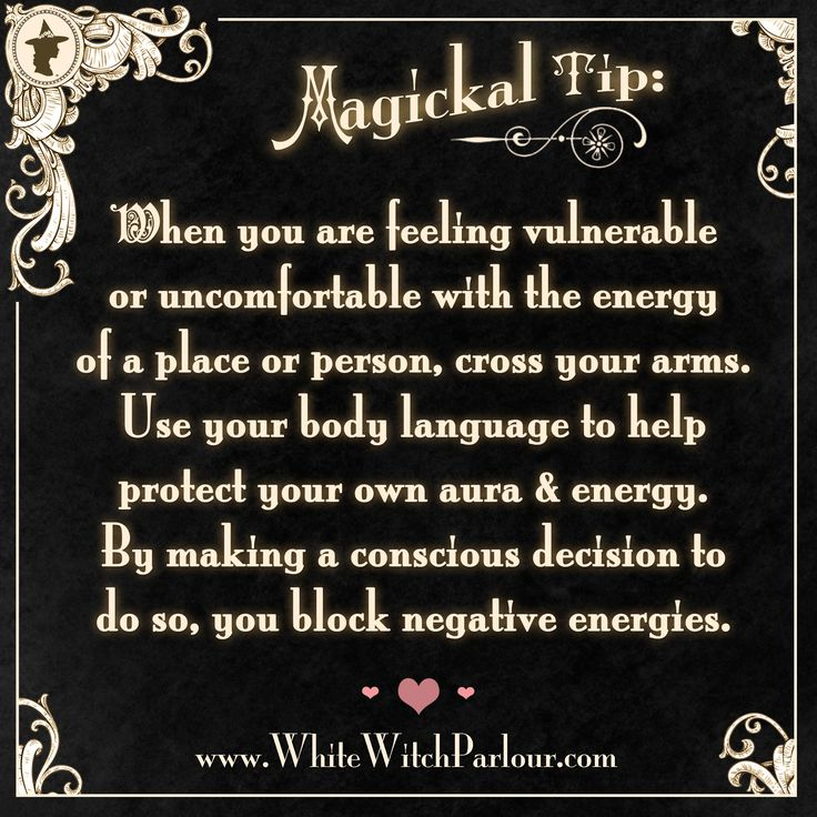 witch, protection, spell, book of shadows, magick, occult, metaphysical, energy, psychic, tarot, ritual, white witch, aura, vulnerable, weak, body language, negative , how to block negative energies https://www.facebook.com/TheWhiteWitchParlour                                                                                                                                                      More