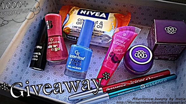 Alternative beauty by maria: 1000+ Thank you! ღ...Giveaway...ღ