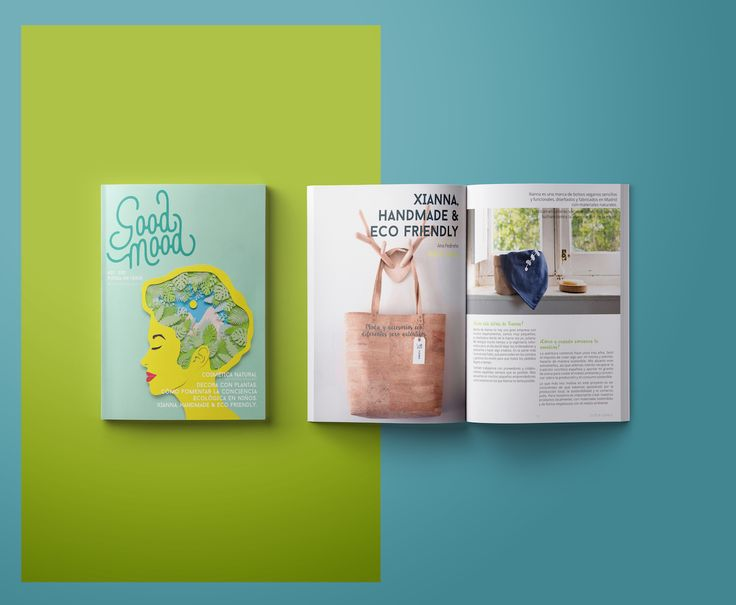 Xianna handmade & ecofriendly bags. Good Mood Magazine #7 Piensa en Verde