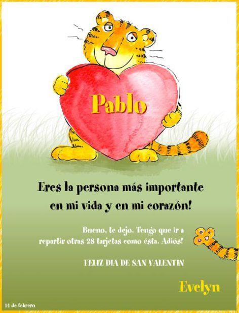 spanish valentine cards funny