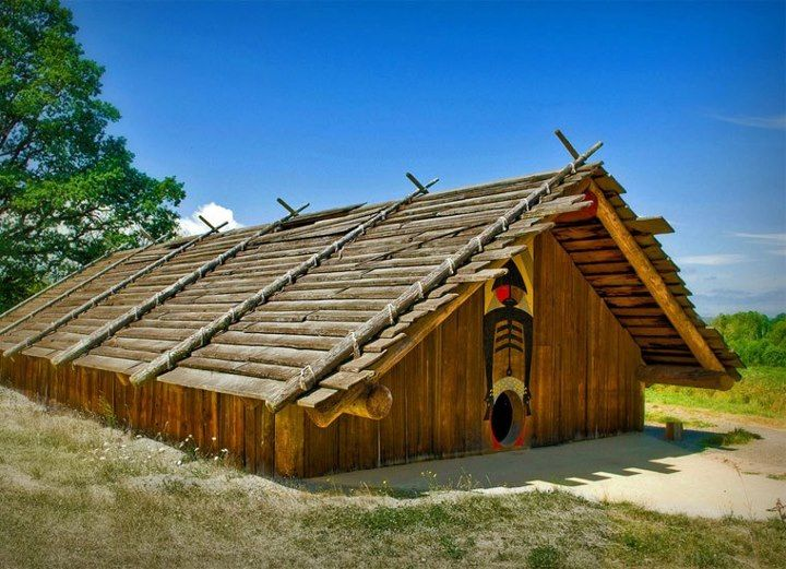 native american longhouse