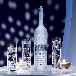 Belvedere Vodka...made with Polish Pride. The only vodka I will drink neat