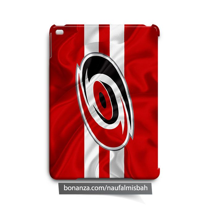 Carolina Hurricanes Ruffles Silk iPad Air Mini 2 3 4 Case Cover
