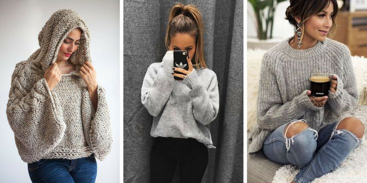 20 adorable models of women's winter pullover