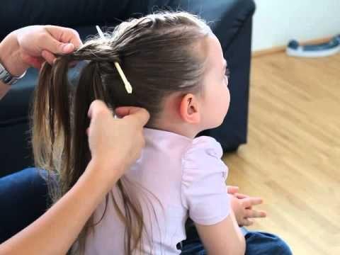 Haare flechten mit Essstäbchen :) - YouTube