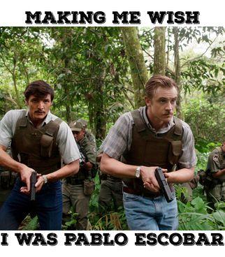 narcos,pablo escobar,pablo,netflix,boyd holbrook, steve murphy, pedro pascal,javier peña,mindy kaling,twitter,tweet,