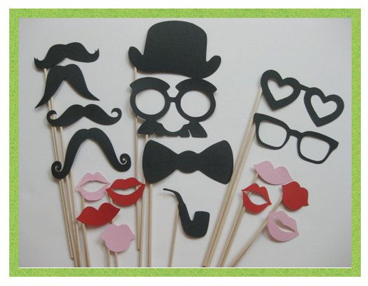 Fun props for the photobooth!  http://www.etsy.com/people/olivetreemonograms?ref=pr_profile
