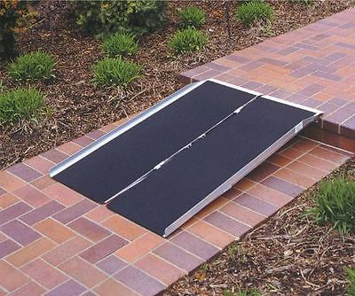 Access Ramps: Pvi Singlefold Wheelchair Accessibility Portable Ramp 5 X30 #Asf5 -> BUY IT NOW ONLY: $233 on eBay!