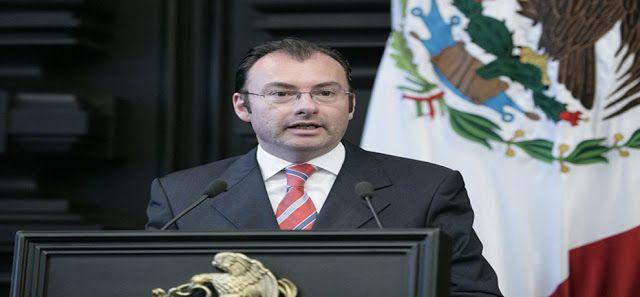 """Venezuela rechaza injerencia de canciller mexicano en la OEA Luis Videgaray Caso dijo en EEUU que la resolución de OEA sobre Venezuela debe ser """"clara"""""""