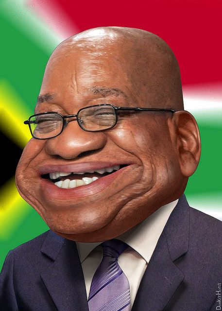 Jacob Zuma - Caricature | Jacob Gedleyihlekisa Zuma, aka Jac… | Flickr