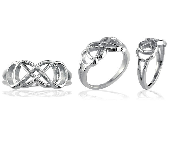 Rosey, I wanna get these for our 10th year! Double Infinity Rings.