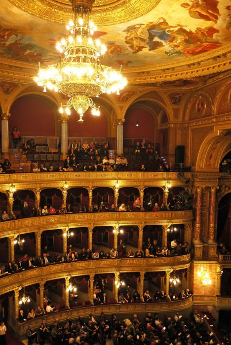 """The Hungarian State Opera House in Budapest - Ohh I remember this place...and how my then choir teacher MADE me """"finish"""" my membership after I no longer wanted to go -_-"""