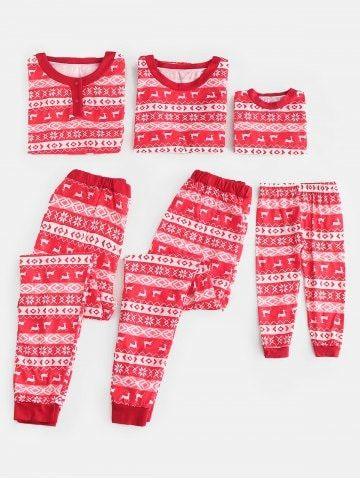 Full Print Matching Family Christmas Pajamas Christmas pjs