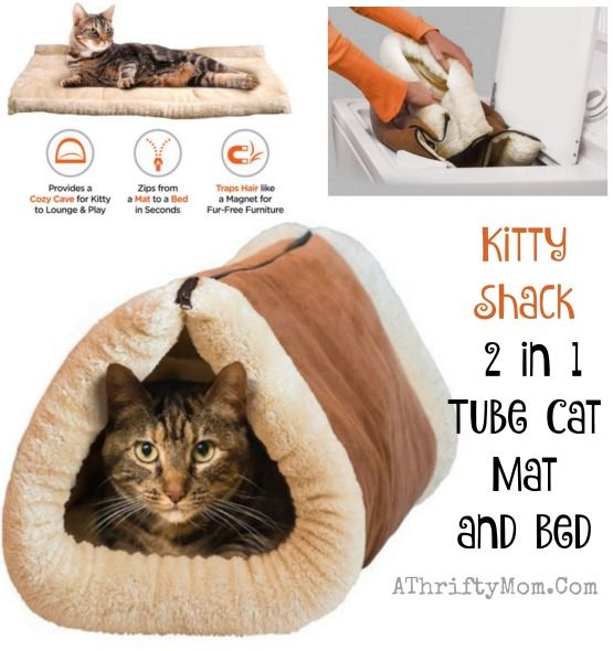 Pet owners gift ideas, cat beds, cat toys, Kitty Shack tube and cat mat in one, cat tips and hacks, Popular gifts for cats