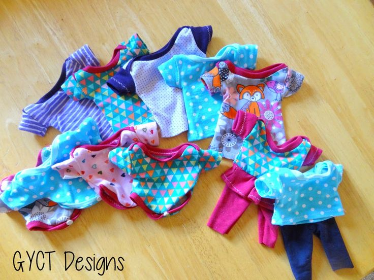 Free Baby Doll Clothing Patterns from GYCT cabbage  patch  kids clothes pattern