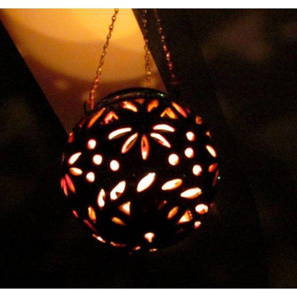 Hanging Terracotta Lantern