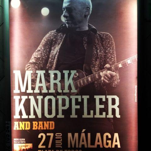 Åsa Larsson: Mark Knopfler i Malaga 27 juli 2013