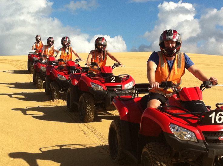 Sand Dune Adventures Quad Biking, Stockton Beach Port Stephens #sanddunes #portstephens #quadbikes www.sandduneadventures.com.au
