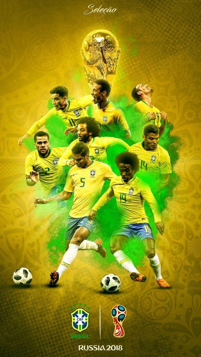 Pin By Abigail Silveira On Brazil Brazil Football Team Football Wallpaper World Football