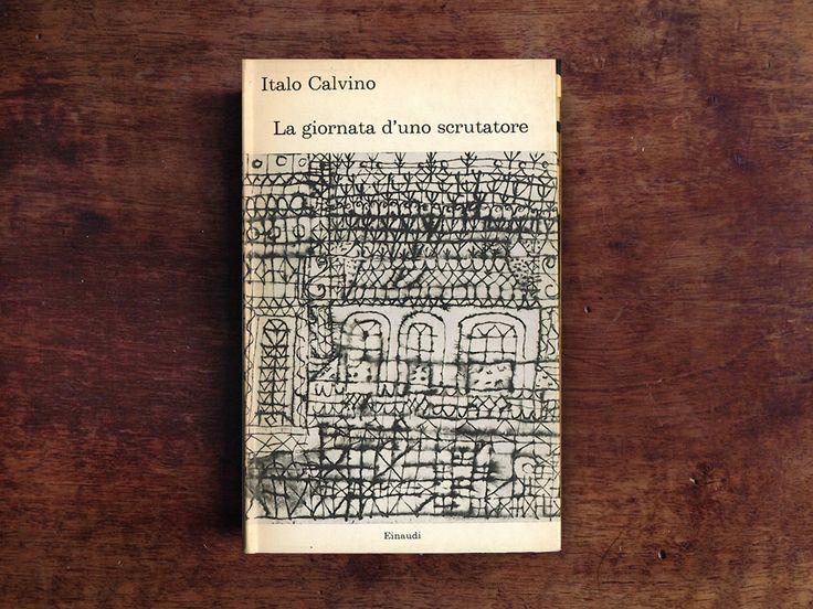 """Giacomo Faramelli ha letto """"La giornata d'uno scrutatore"""" di Italo Calvino: un enorme mole di ragionamenti e dubbi che montano come un'onda di marea nel corso della giornata. @einaudieditore"""