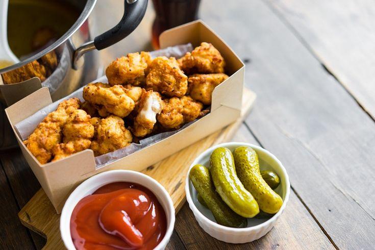 «Попкорн» из курицы готовится легко и сметается до последней крошки! — Вкусные рецепты