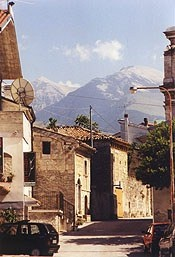 My parents are from Roccamorice, Italy in the Abruzzo region. Beautiful little town that I have been to many times...